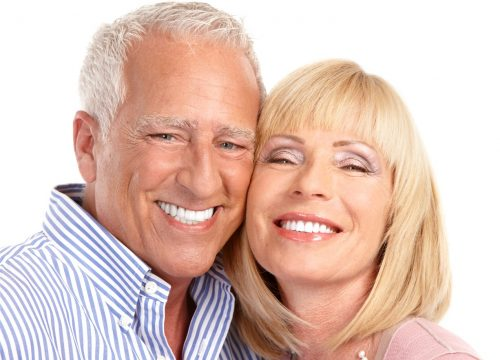 old couple smiling PWD
