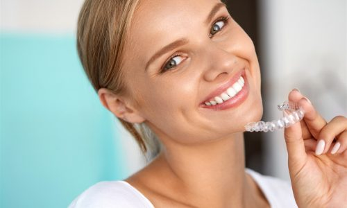 smiling with Invisalign PWD